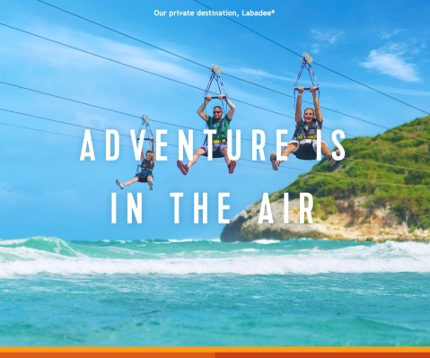 Adventure is in the air