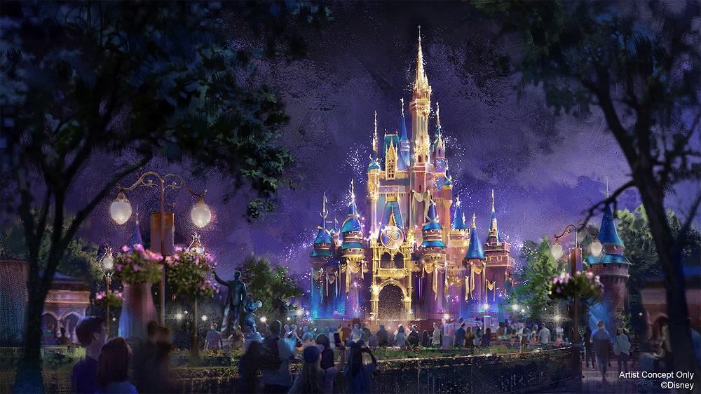 Disney's 50th Anniversary Celebration Magic Kingdom